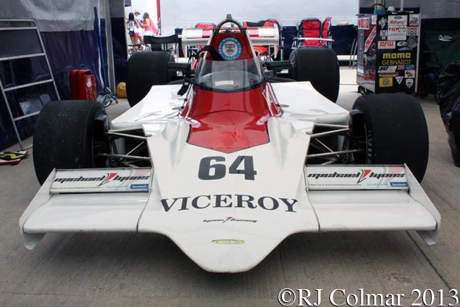 Lola T400, Silverstone Classic,