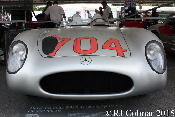 Mercedes Benz 300 SLR Coupé, Goodwood Festival of Speed