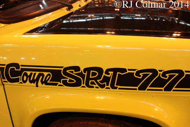 Simca 1000 Rallye 2 SRT 77, Classic Motor Show, NEC, Birmingham