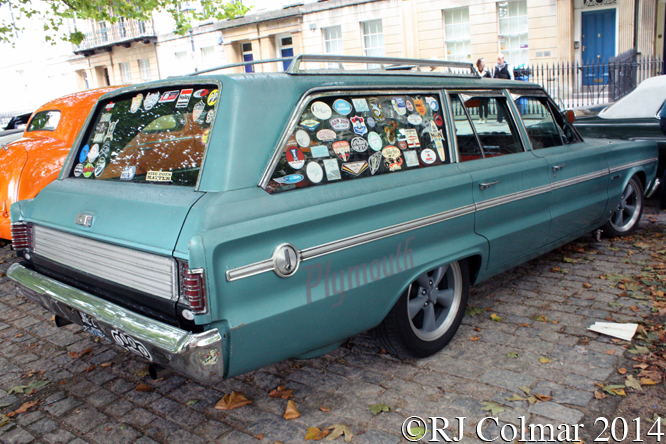 Plymouth Belvedere Wagon, Avenue Drivers Club, Queen Square, Bristol,