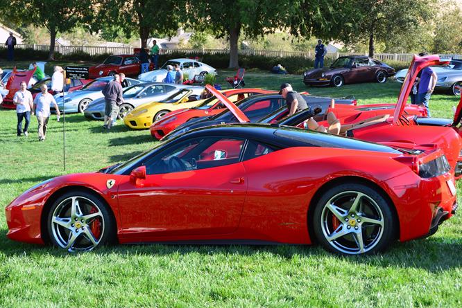 Ferrari 458 Italia, Niello Serrano Concours d'Elegance