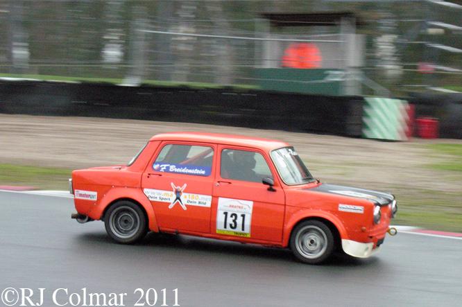 Simca 1000 Rallye 2, Frank Breidenstein, Oulton Park,