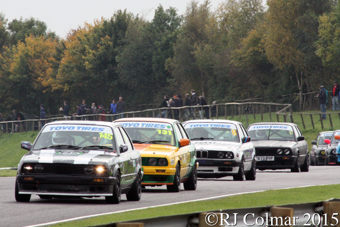 BMW 320i, Swaffer, Wileman, Palmer, Davison, Castle Combe