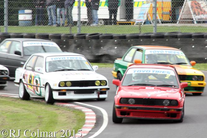 BMW 320i, Feakins, Goodman, Wileman, Davison, Castle Combe