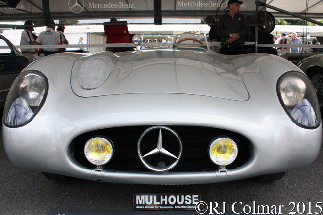 Mercedes Benz 300 SLR, Goodwood Festival of Speed