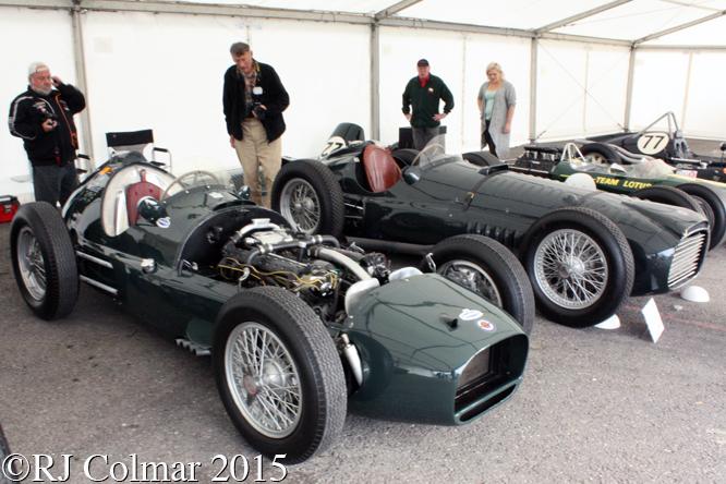 BRM Type 15, Autumn Classic, Castle Combe