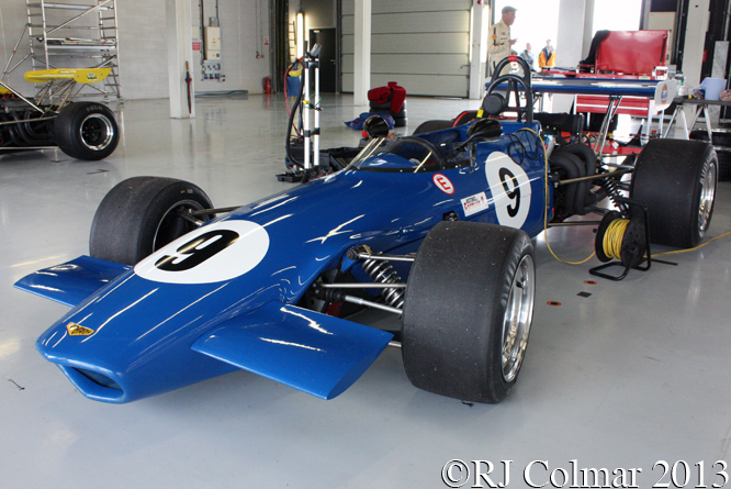 Chevron Cosworth B17C, Silverstone Classic, Press Day