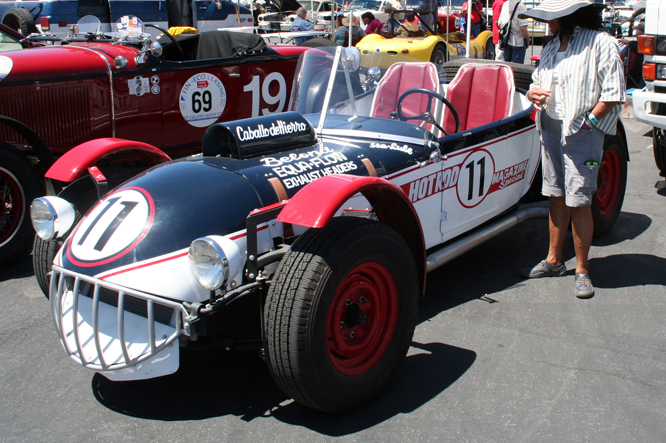 Caballo de Hiero, Rolex Monterey Motorsports Reunion, Laguna Seca,