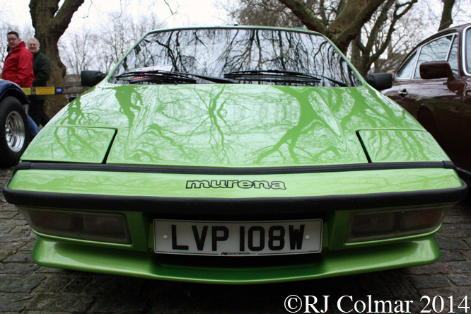 Talbot Matra Murena, Avenue Drivers Club, Queen Square, Bristol