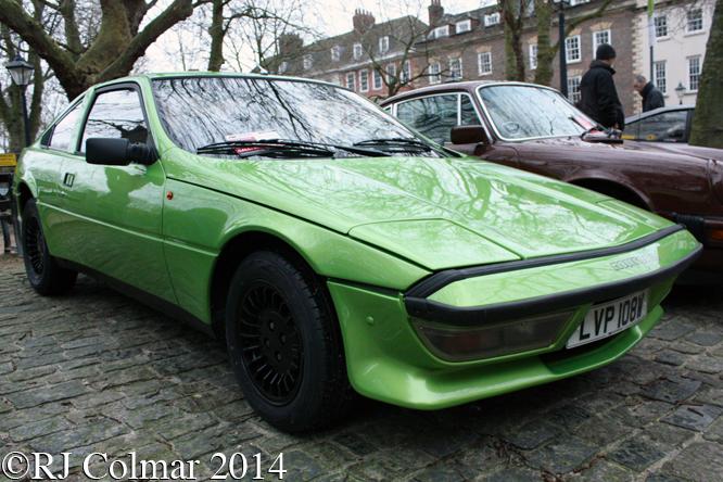 Talbot Matra Murena, Avenue Drivers Club, Queen Square, Bristol