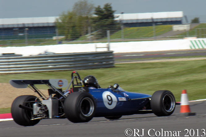 Chevron Cosworth B17C, Martin Bullock, Silverstone Classic, Press Day