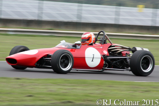 Chevron Novamotor B17, Jim Blockley, Grand Finals, Castle Combe,