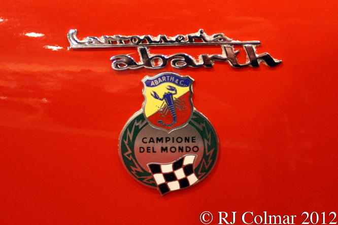 Abarth Simca 2Mila, Race Retro, Stoneleigh