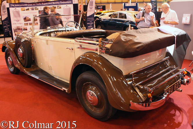 Mercedes Benz W18 290 Tourer, Classic Motorshow, NEC, Birmingham
