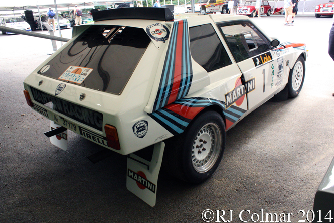 Lancia Delta S4, Goodwood Festival of Speed