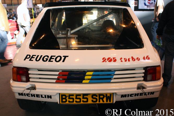 Peugeot 205 T16 EVO 1, Classic Motor Show, NEC, Birmingham,