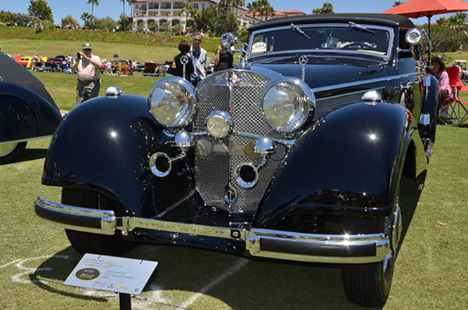 540K Cabriolet A, Dana Point Concours d'Elegance