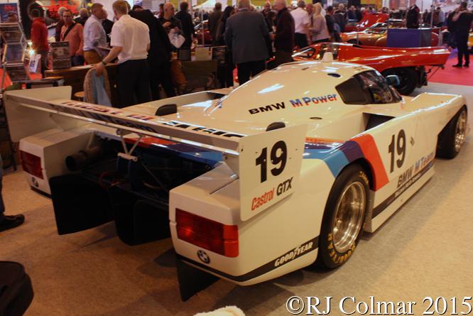BMW GTP,  Classic Motorshow, NEC, Birmingham