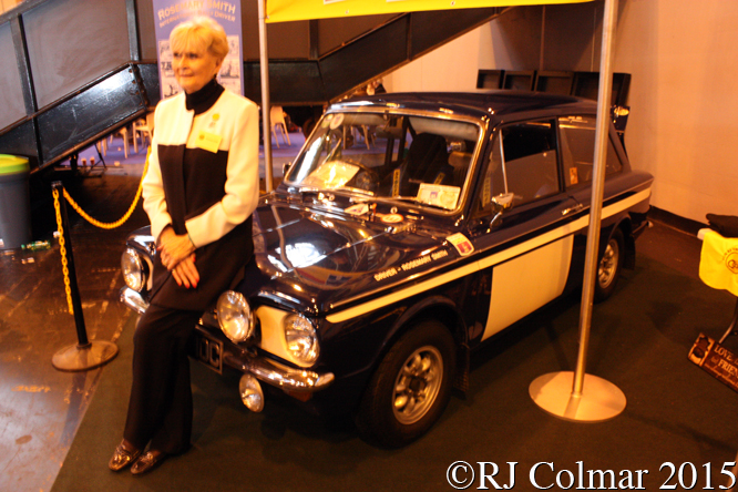 Rosemary Smith,  Classic Motorshow, NEC, Birmingham