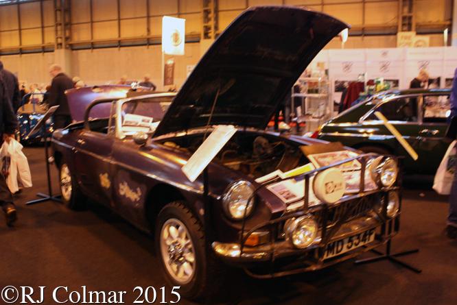 MG B Roadster,  Classic Motorshow, NEC, Birmingham