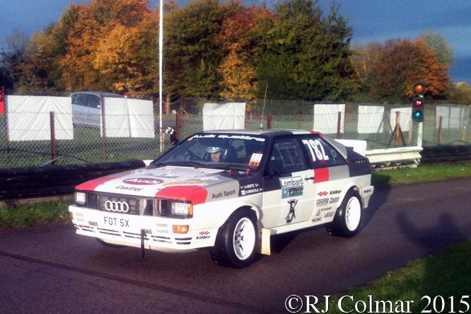 Audi Quattro, Tim Clarke, MANBAT Pegasus Sprint, Castle Combe