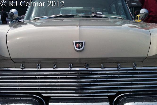 Chrysler Windsor Sedan, Bristol Classic Car Show, Shepton Mallet