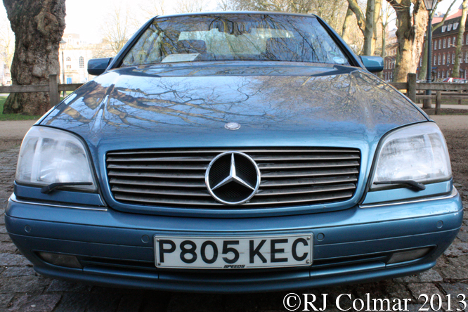 Mercedes Benz CL500, Avenue Drivers Club, Queen Square, Bristol,