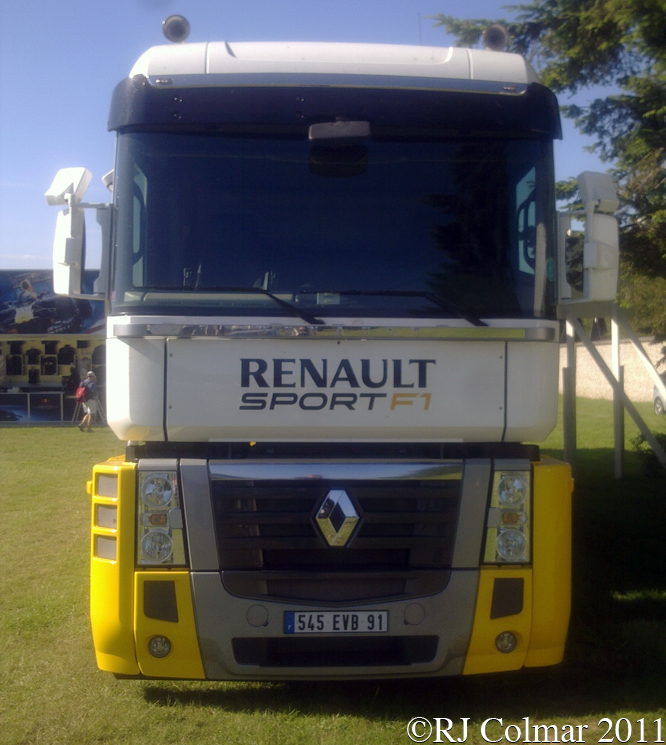 Renault Magnum, Goodwood Festival of Speed