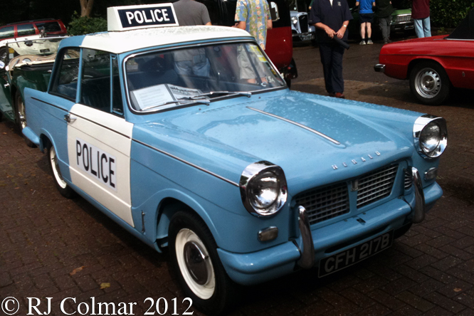 Triumph Herald 1200, Frenchay Show,