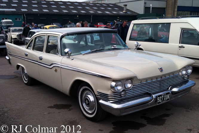 Chrysler Windsor Sedan, Bristol Classic Car Show, Shepton Mallet