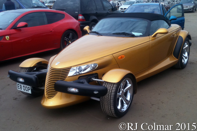 Chrysler Prowler, Pendine Sands