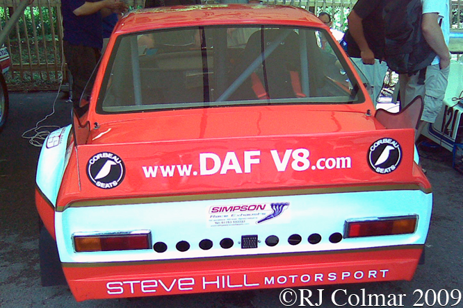 DAF Oldsmobile 55, Goodwood Festival of Speed,