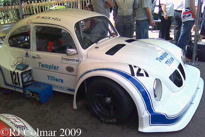 Volkswagen Trojan Chevrolet Beetle, Goodwood Festival of Speed,