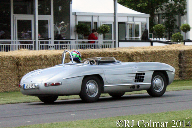 Mercedes Benz 300 SLS, Dario Franchitti, Goodwood, Festival of Speed,