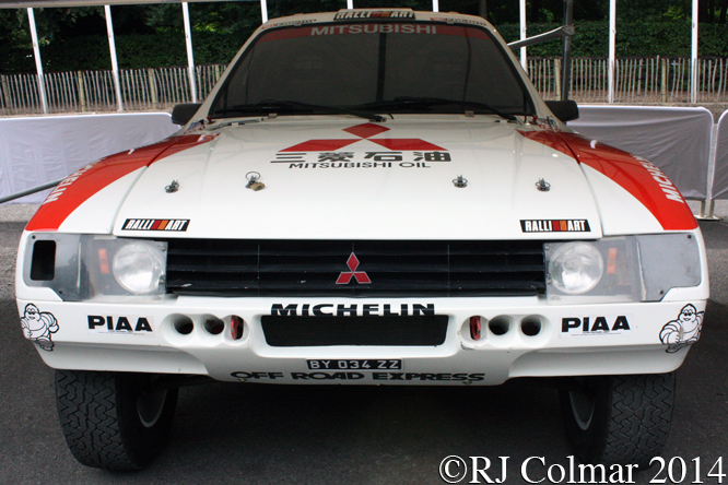 Mitsubishi Pajero T3 Prototype, Goodwood Festival of Speed,
