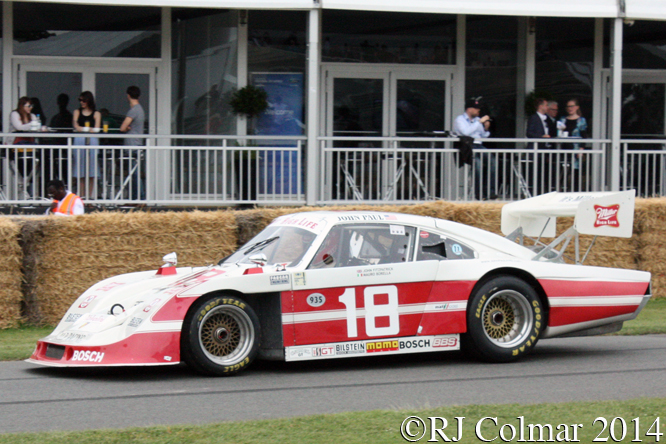 Porsche 935 JLP-4, John Fitzpatrick, Goodwood Festival of Speed,