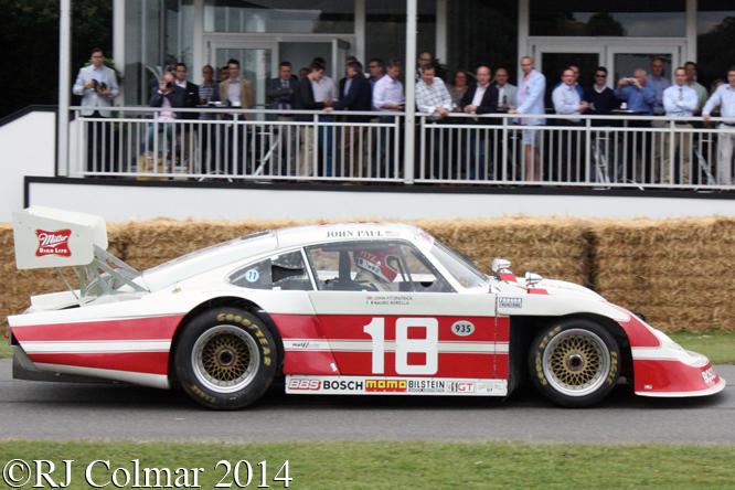 Porsche 935 JLP-4, John Fitzpatrick, Goodwood Festival of Speed,