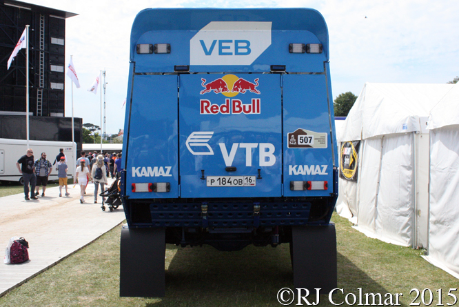 KAMAZ T4 Dakar Truck, Goodwood Festival of Speed,