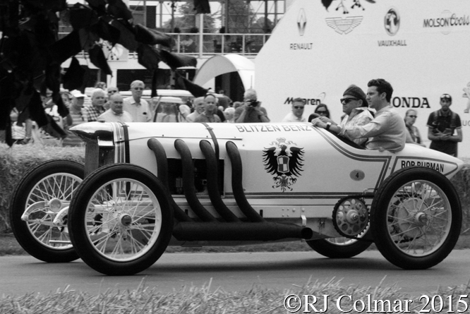 Benz 200hp Reconstruction, Bill Evans, Goodwood, Festival Of Speed,