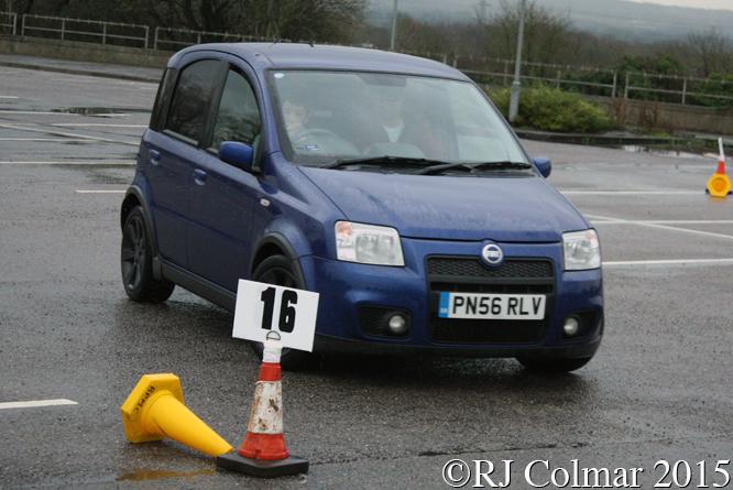 FIAT Panda, Thompson, BPMC Auto Solo Auto Test. Aust Services