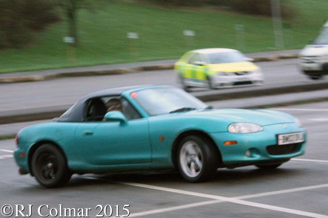 Mazda MX5, Welsh, BPMC Auto Solo Auto Test. Aust Services