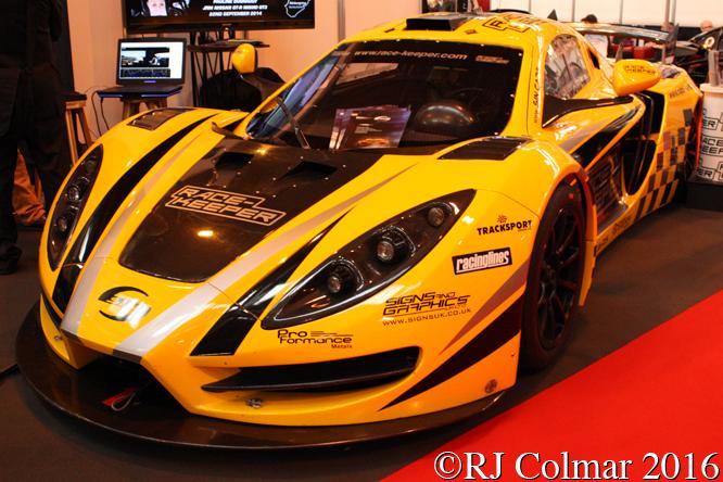 Sin R1 GT Cup, Autosport International, Birmingham NEC,