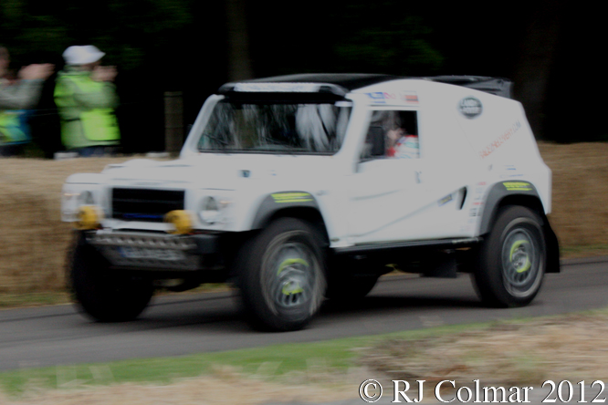 Qt Wildcat 500 DKR, Capt Tony Harris, Goodwood Festival of Speed