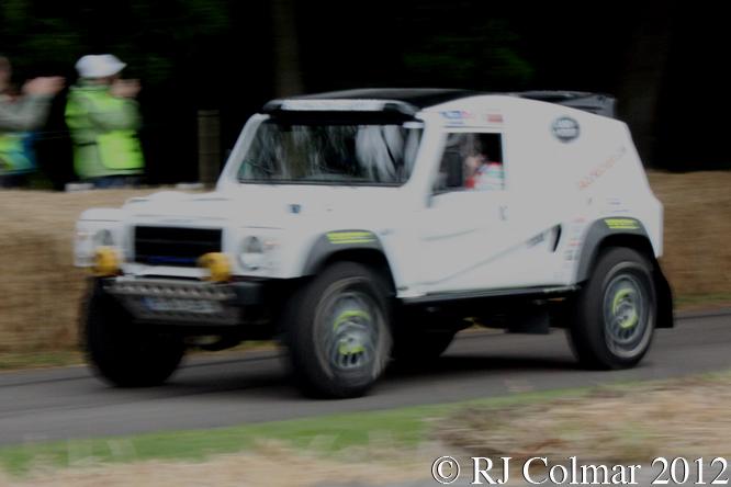 Qt Wildcat 500 DKR, Capt Tony Harris, Goodwood Festival of Speed