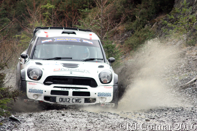 Mini John Cooper Works WRC, Conner McCloskey, Damien Duffin, Penmachno, Cambrian Rally,