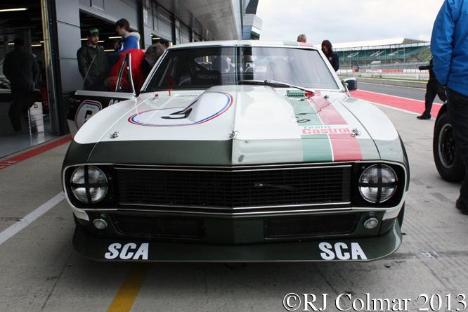 Chevrolet Camaro Z/28, Silverstone Classic Test Day,