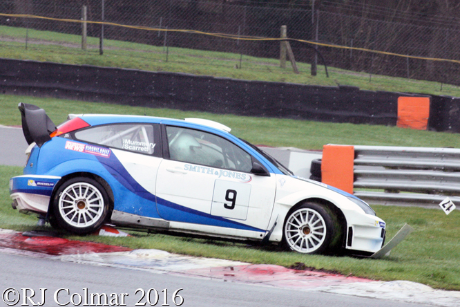 Ford Focus 05 WRC, Nigel Mummery, Fiona Scarrett, MGJ Engineering Winter Stages Rally, Brands Hatch
