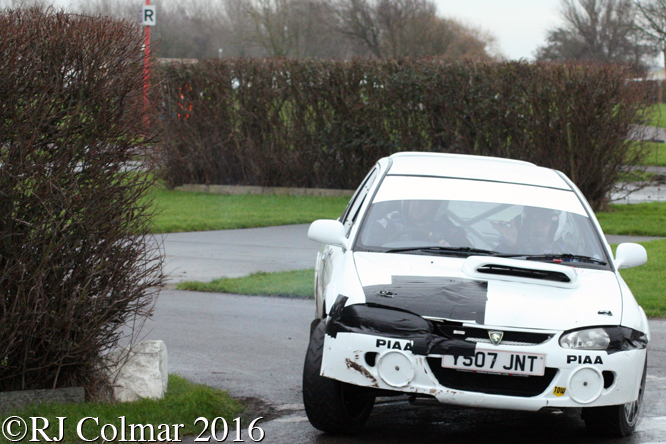 Proton Compact GTi, Ryan Fagan, Jordan Joines, Brean Stages Rally, Brean Leisure Park,