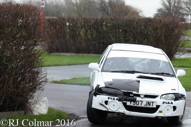 Proton Compact GTi, Ryan Fagan, Jordan Joines, Brean Stages Rally, Brean Leisure Park,