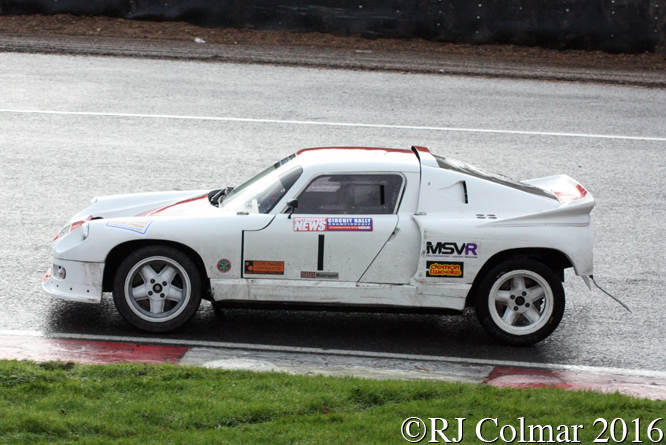 Darrian T9, Jeremy Straker, Simon May, MGJ Engineering Winter Stages Rally, Brands Hatch